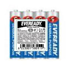 Батарейка Eveready Blue R03